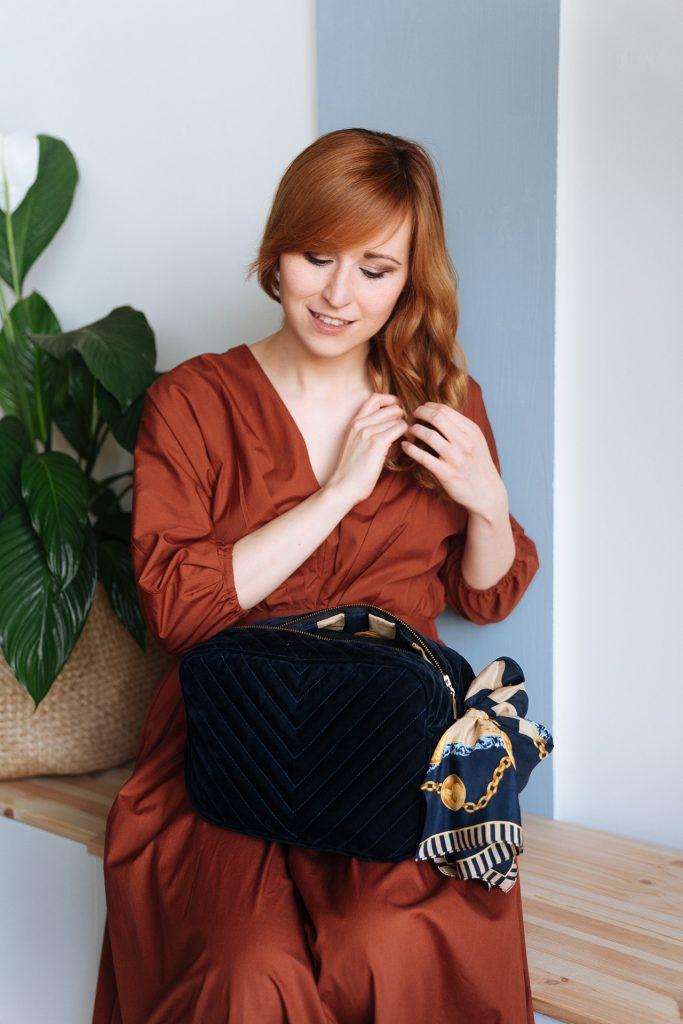 Moin Liz DIY Upcycling Refashion Burda Style Schnittmuster Nähanleitung Tasche nähen für Anfänger 6