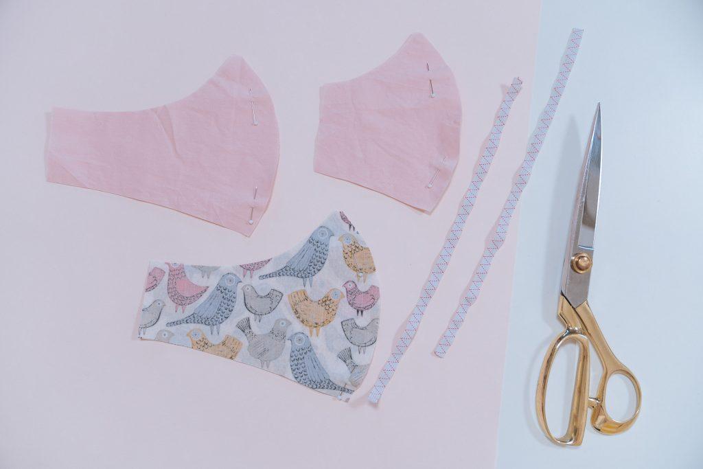 Moin Liz DIY Mundschutz Athemmaske Behelfsmaske nähen Maske Refashion Upcycling Thrift Flip nähen für Anfänger Nähanleitung