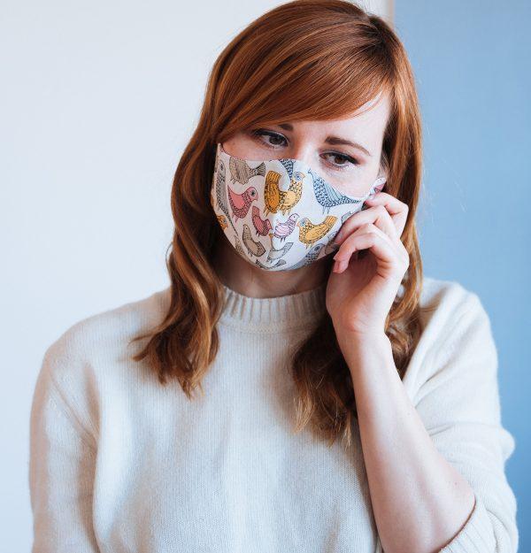 Moin Liz DIY Mundschutz Athemmaske Behelfsmaske nähen Maske Refashion Upcycling Thrift Flip nähen für Anfänger